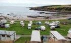 Portsoy Caravan Park.