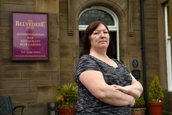 Sheila Howarth of the Belvedere Hotel in Stonehaven.