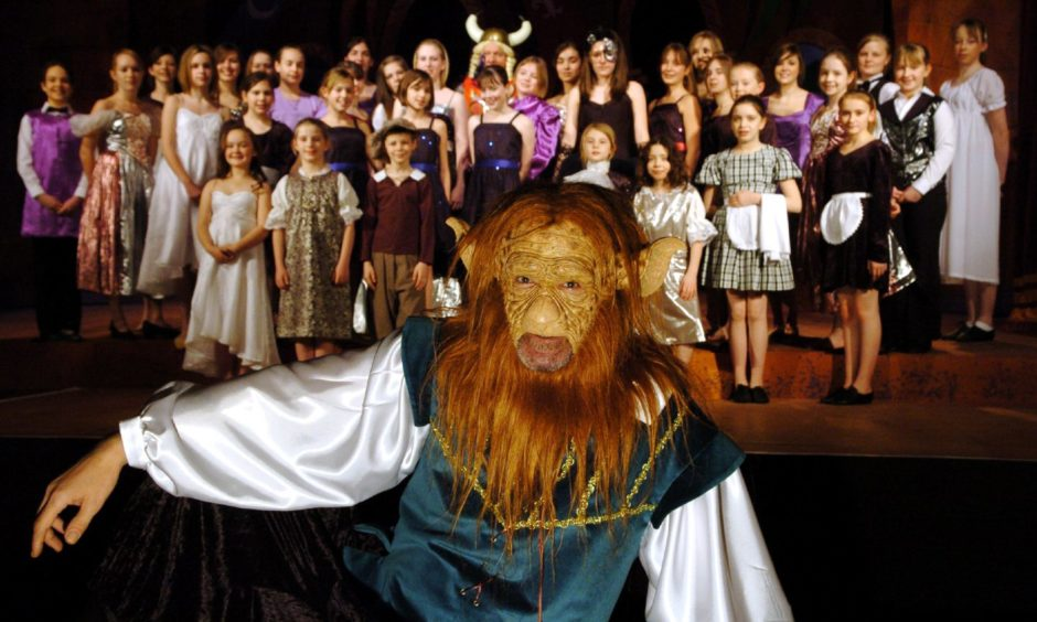 Trap 4 Productions' version of Beauty and the Beast was a monster hit at Inverurie Town Hall in 2007.