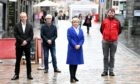 Aberdeen-wide contact tracing system launched in Belmont Street yesterday
