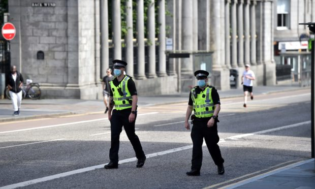Concerns have been raised over a coronavirus outbreak among Aberdeen police