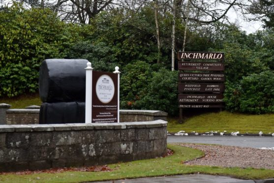 Deaths have been confirmed at the Inchmarlo House Care Home, near Banchory.