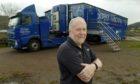 Iain MacColl, the Screen Machine operator and driver.