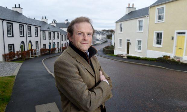 John Moray is the landowner at Tornagrain.