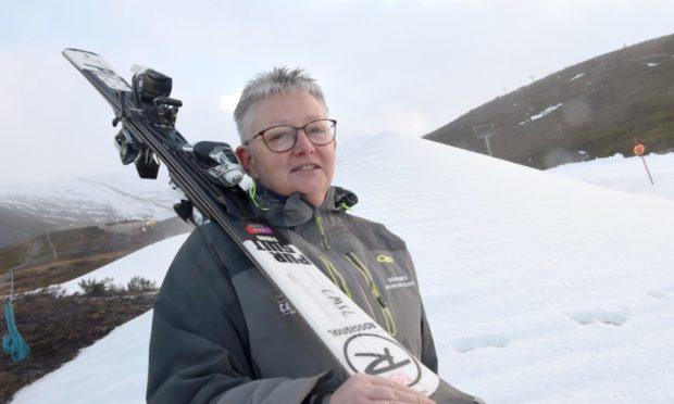 Susan Smith, interim chief executive of Cairngorm Mountain.
