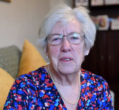 Mary Nelson of Forres, who has been given a BEM in the New Year's Honours list. Picture by Sandy McCook