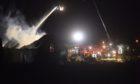 Fire in Nigg last night