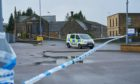A man was attacked in Trinity Place, Elgin