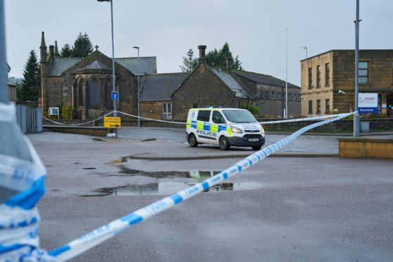 A man was taken to hospital after being assaulted with a weapon.