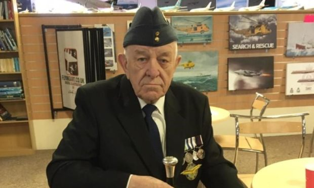 RAF veteran Patrick Wire has been taking part in the calls.