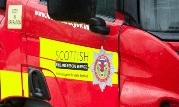 Appliances from Huntly, Insch and central station in Aberdeen are currently in attendance.