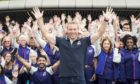 Sir Chris Hoy spends time with Glasgow 2018 Volunteers at the SSE Hydro ahead of the European Championships.