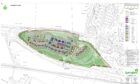 Plans for 77 homes approved by Moray councillors.