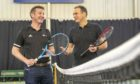 LTA chief executive Scott Lloyd, pictured left, alongside Blane Dodds, chief executive of Tennis Scotland.