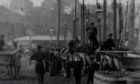 The bustle of Wick Harbour captured in extremely rare Kinora Reel footage,
