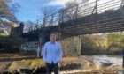 Tim Eagle has raised concerns over the condition of the Cloddach Bridge.