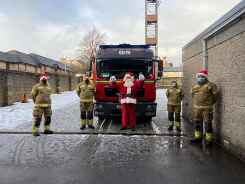 Commander Alison Robertson and Grantown fire crew will join firefighters from Baednoch and Strathspey in walking, cycling or running to raise £2500 for charity.