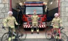 Watch Commander of Aviemore Fire Station  Laura McHardy organised the challenge alongside Aviemore firefighters Julian Orsi and Annie Kirkwood.