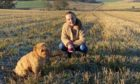 Sophie Smith and Skye the dog. Aberdeen. Supplied by Friends of the Neuro Ward.