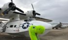 The Catalina flying boat with Nessie.