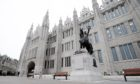 Marischal College, where Aberdeen City Council is based. Picture by Chris Sumner