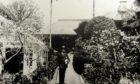 Thomas Blake Glover at his house in Nagasaki circa 1896.  Picture by Chris Sumner