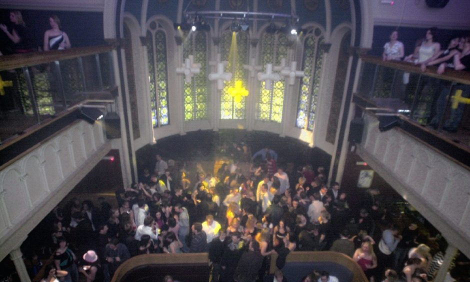 Packed nightclubs like Priory, pictured here at Hogmanay 2003, seem worlds away after a year in lockdown.