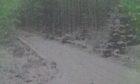 Cairn O'Mount snow gate is shut.