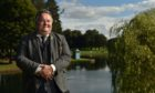Moray Council leader Graham Leadbitter in Cooper Park.
