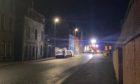 Fire crews at North Street in Peterhead