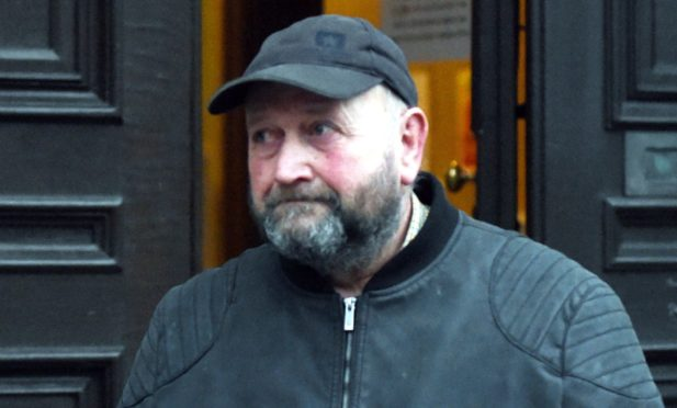 Farmer William Cassie at Aberdeen Sheriff Court in February 2020.