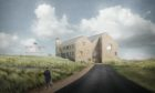 Artist impression of planned clubhouse