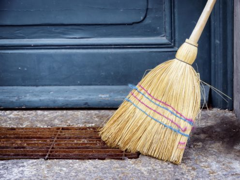 old broom at a door; Shutterstock ID 167639825; 7a13553c-4d59-4550-b98d-69763517fbea