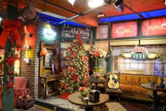 The Central Perk Set from Friends, Warner Bros Studios tour, Burbank, USA