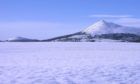 Bennachie in winter. The Bailies of Bennachie have created a new winter programme of activities for youngsters.  Picture shows; Bennachie in winter.. bennachie.