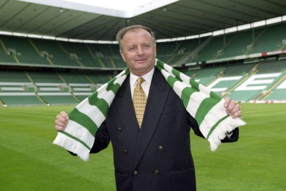 Jozef Venglos at Celtic Park in 1998.