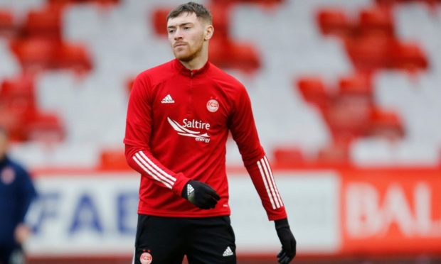 Ryan Edmondson during his time with Aberdeen.
