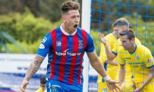 Josh Meekings during his time with Caley Thistle.