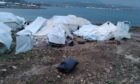 Aberdeen Must Act says refugees and asylum seekers on the Aegean islands have been living in sub-zero temperatures.