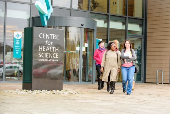 The Centre for Health Science building at UHI in Inverness is to become a Covid-19 vaccination centre.