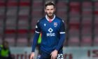 Ross County's Jason Naismith making his second debut for the club against St Johnstone.