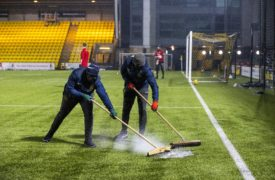 Aberdeen-Livingston called off for second time just before kick-off due to waterlogged pitch