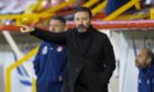 Aberdeen manager Derek McInnes saw his side beat Motherwell