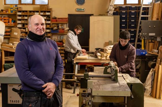 Jack Duncan – owner of John P Duncan joinery firm, Alford, Aberdeenshire.
