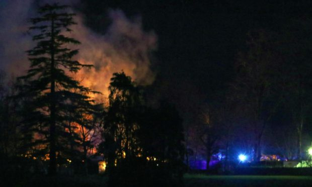 Inverawe Smokehouse fire Kevin McGlynn