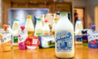 New product launches have included glass bottles for milk.