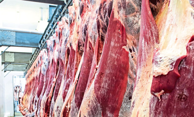 The company said plans for its new abattoir are on hold.