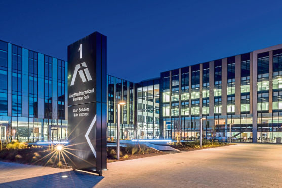 Aberdeen International Business Park  Submitted by CBRE