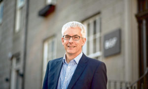 Mike Sibson, head of office in Aberdeen for BGF