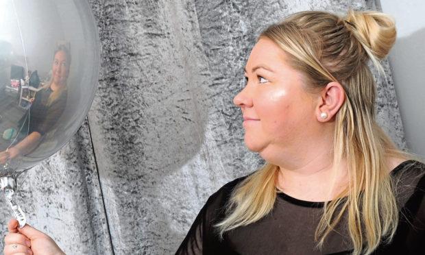 Julie Donald of Aberdeen Balloon Lady